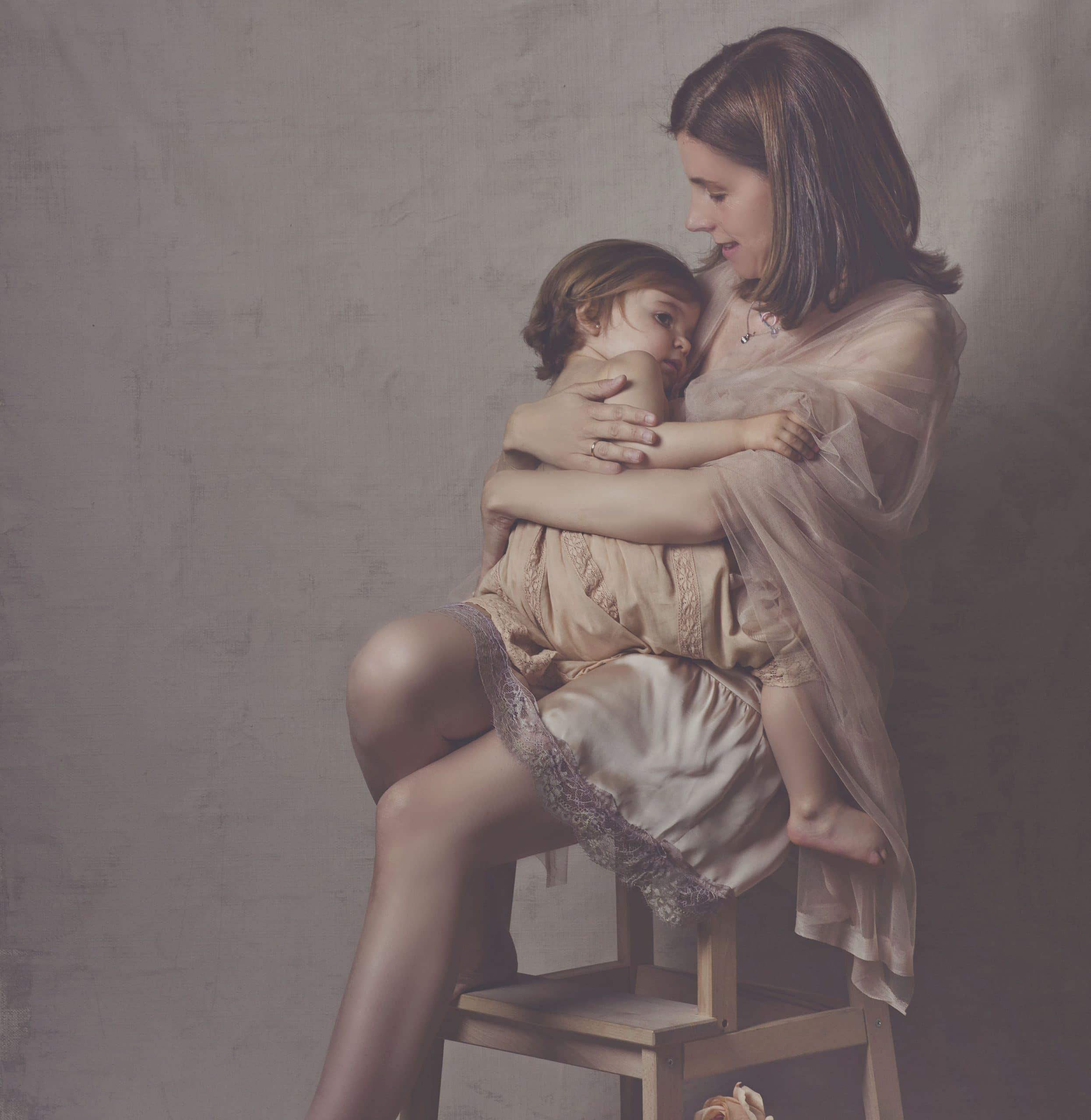nosotras mama y niña